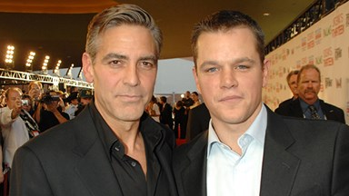 George Clooney pranks Matt Damon