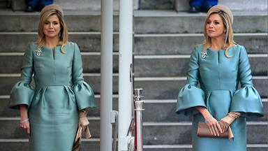 Queen Maxima's fashion faux pas