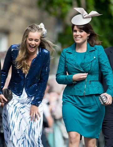 Cressida and Eugenie in June 2013.