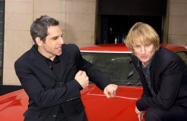 "Ever since ""Zoolander"" even a male model could tell that the on screen chemistry between Ben Stiller and Owen Wilson was legit. The pair have been in several films together including ""The Royal Tenenbaums,"" ""Starsky & Hutch"" and the ""Meet the Parents"" films."