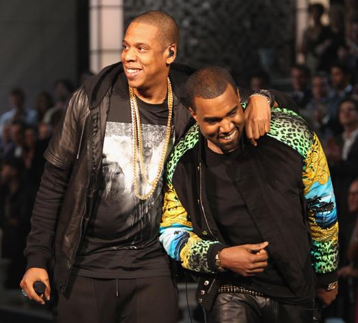 "Kanye West and Jay-Z go way back. Their rapport was built around music collaborations with each artist appering on the others music records. However the bromance was solidified upon the release of the pair's wildly successful album ""Watch the Throne"" in 2011. While Kanye is very talented, we don't think Beyoncé has to worry about Jay-Z going astray."