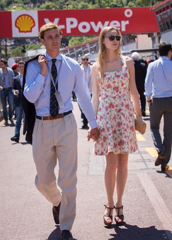 Pierre Rainier Stefano Casiraghi, 26, is the younger son of Caroline, Princess of Hanover, and her second husband, Stefano Casiraghi. While technically single, the fourth in line to the throne of Monaco is currently dating Beatrice Borromeo, a journalist and member of an ancient Italian aristocratic family, of course.