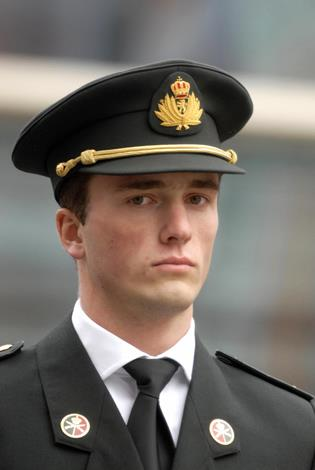 Prince Amedeo of Belgium and Archduke of Austria-Este, 27, is sixth in line to the throne of Belgium. Amedeo might be a royal but he's has been raised as a strong military man and is a reserve officer in the Belgian Army.