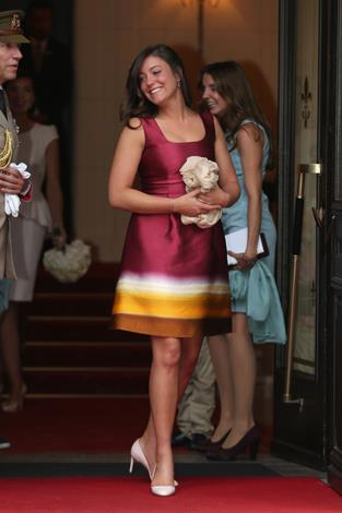 Princess Alexandra of Luxembourg, 23, is a studious royal having studied history, psychology and sociology at Franciscan University in Steubenville, Ohio.
