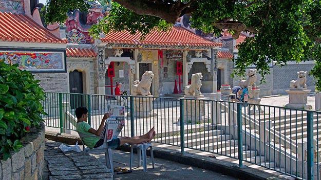 Pak Tai Temple on Cheung Chau Island.