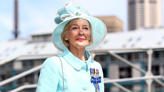 Governor-General Quentin Bryce in Sydney in 2013