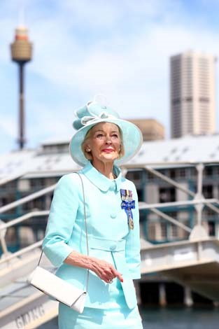 The Governor-General Quentin Bryce is always a picture of elegance
