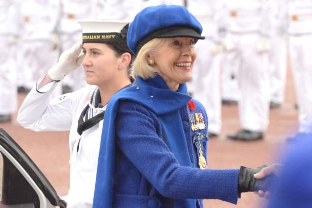 Channeling French chic in royal blue