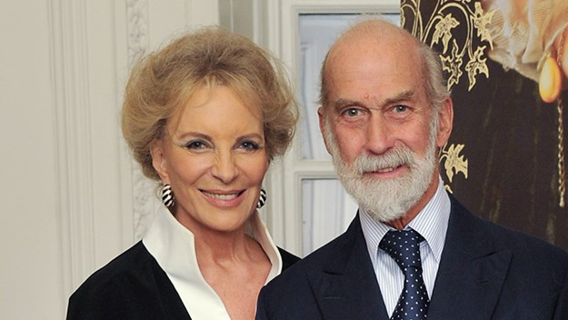 The Prince and Princess Michael of Kent.
