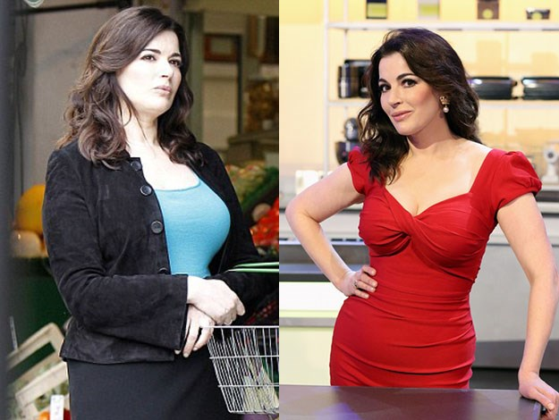 Weight-loss is a style-transformer for celebrities and Nigella Lawson shows why. Photos: Getty Images