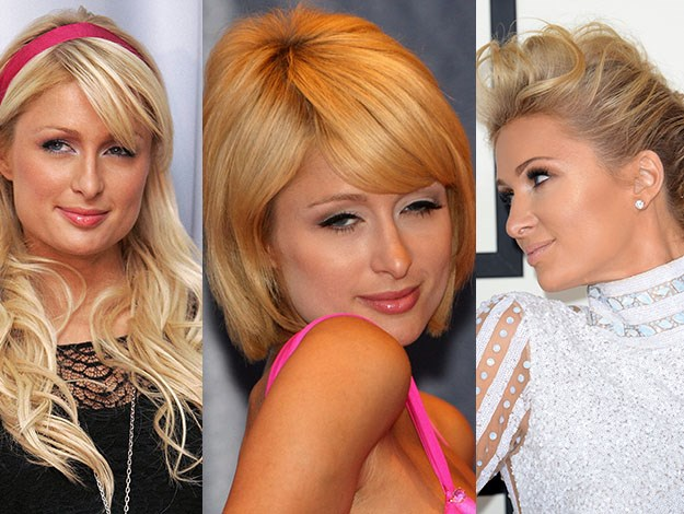 It lacked Beckham's angles but Paris Hilton's haircut was short and sweet. Photos: Getty Images