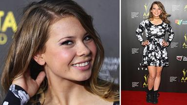 Bindi Irwin all grown up on the red carpet