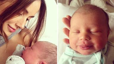 Rebecca Judd welcomes baby girl