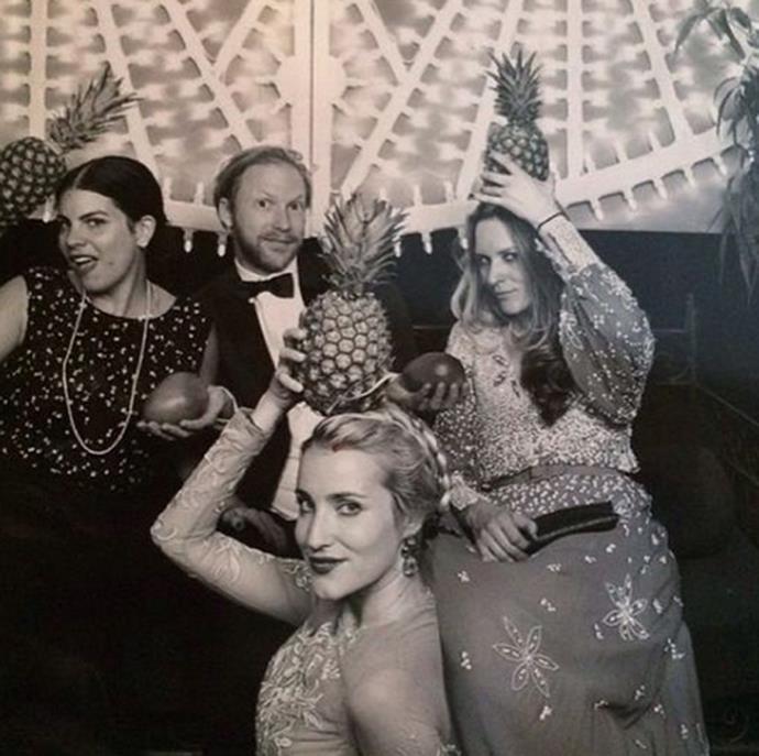 Fernanda Abdalla, Jan Olesen and friends. Photo: Instagram
