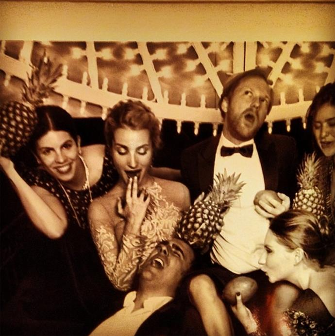 Fernanda Abdalla, Jan Olesen, Victoria Botana and friends. Photo: Instagram