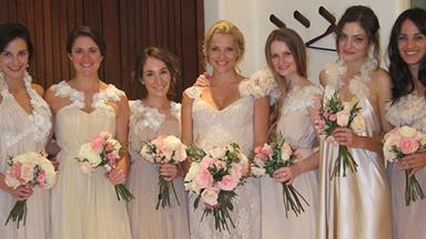 Pregnant Teresa Palmer shares wedding photo
