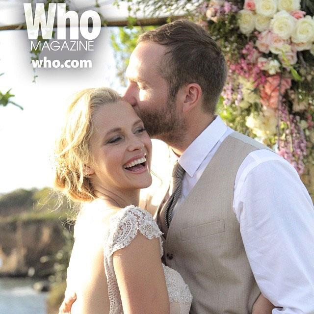 Teresa Palmer and Mark Webber married in a romantic Mexican ceremony.