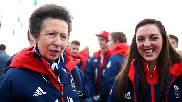 Princess Anne at the Sochi Winter Olympics
