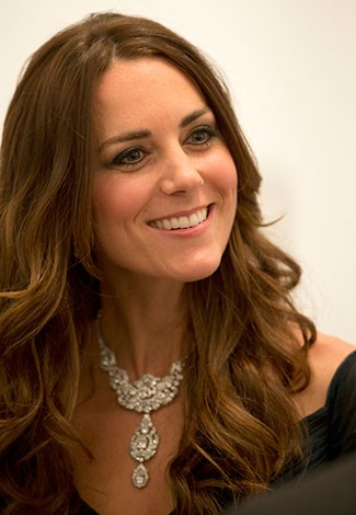 Kate looked stunningly beautiful at the event.