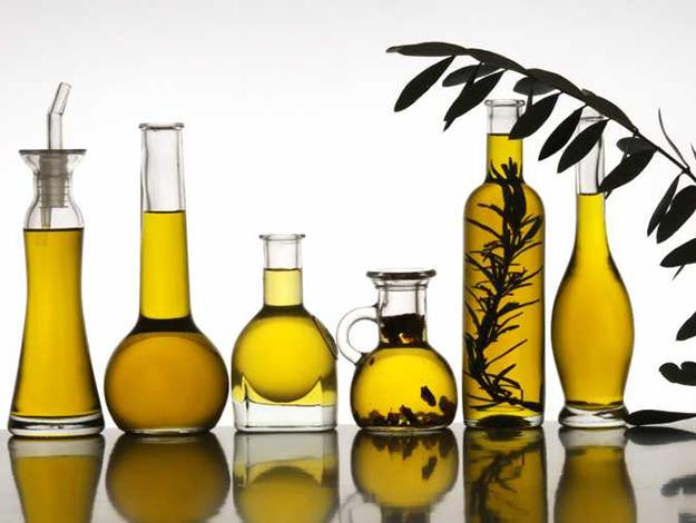 Drinking olive oil supposedly cleans blood from fat and curbs an appetite and even increases the metabolism.