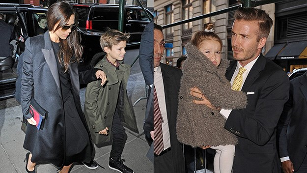 The Beckhams have been paparazzi favourites this fashion week.
