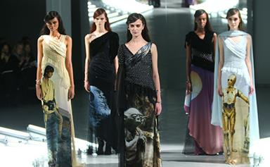 Finally: Star Wars and couture combine