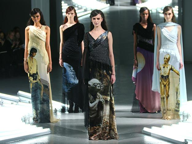 The unique intergalactic designs by Rodarte are not for sale, instead they will only be available for editorial shoots.