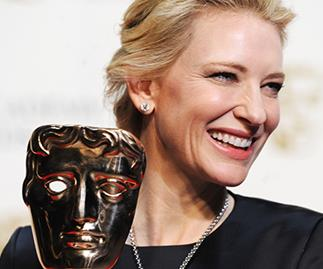 Cate Blanchett with her Bafta