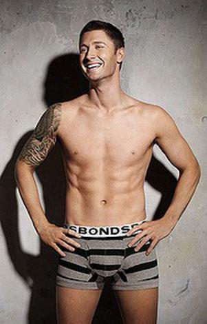 Aussie cricket captain Michael Clarke has also posed in his jocks for Bonds.