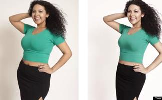 The suprising reactions of real women being photoshopped to look like cover girls