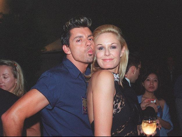Charlotte with friend Alex Abots Bentley in 2000.