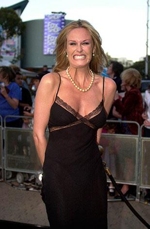 At the premiere of The Others in November 2001.