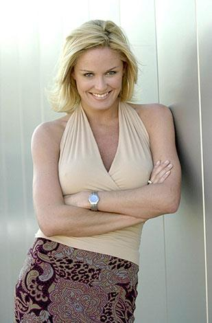 Charlotte's good looks saw her carve out a lucrative career as a model and TV presenter.