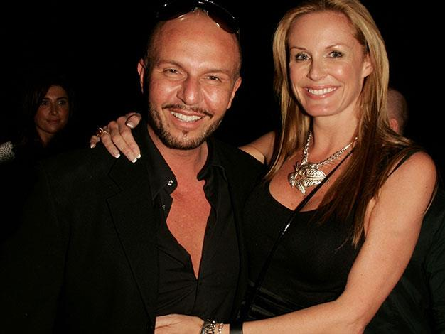 Charlotte with her Australia's Next Top Model co-judge Alex Perry in 2007.