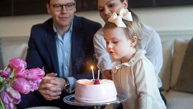 Princess Estelle of Sweden turns two