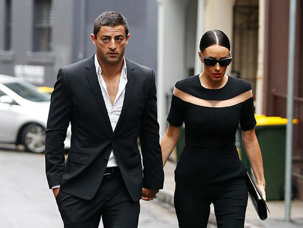 Rugby League player Anthony Minichiello and his wife Terry Biviano.