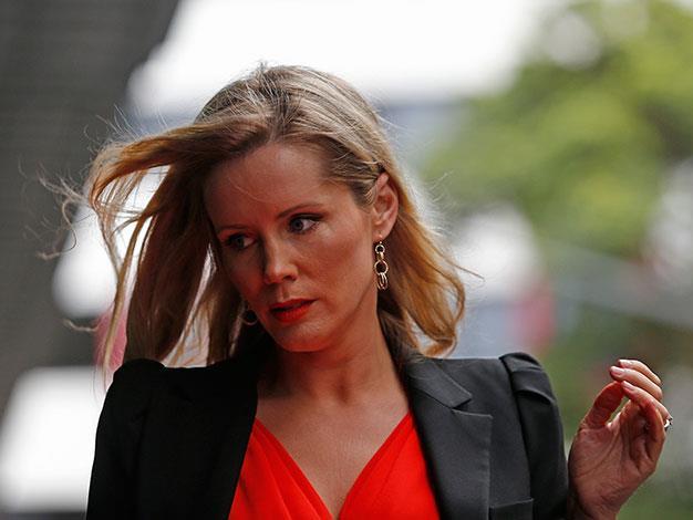 Television presenter Sophie Falkiner.