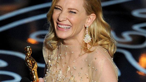 Cate Blanchett wins Oscar