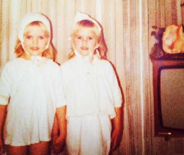 Jodi and Michelle both wanted to be nurses from when they were children. Photo: Supplied