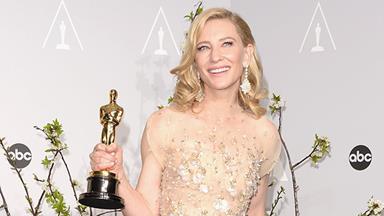 Cate Blanchett's Oscar 'threesome'