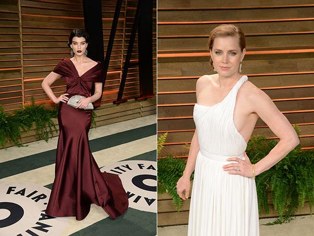 Crystal Renn and Amy Adams. Photos: Getty Images