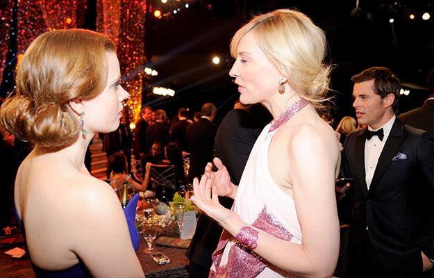 Amy and Cate at the 20th Annual Screen Actors Guild Awards in Los Angeles this past January.