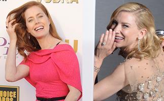 Amy Adams and Cate Blanchett.