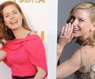 Amy Adams and Cate Blanchett.