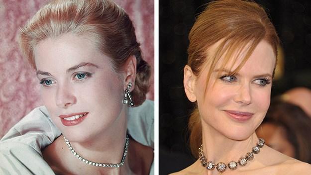 Nicole Kidman and Grace Kelly