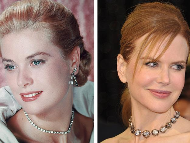 Nicole Kidman played Grace Kelly in Grace of Monaco.