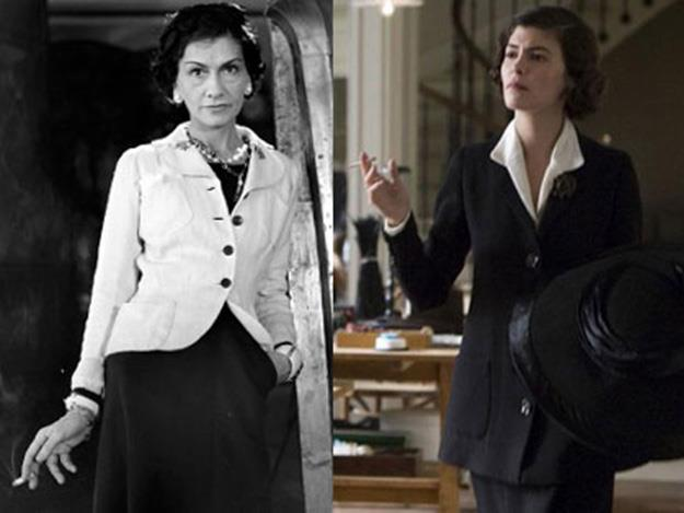 Audrey Tautou played a young Coco Chanel in the 2009 biopic, Coco Before Chanel.