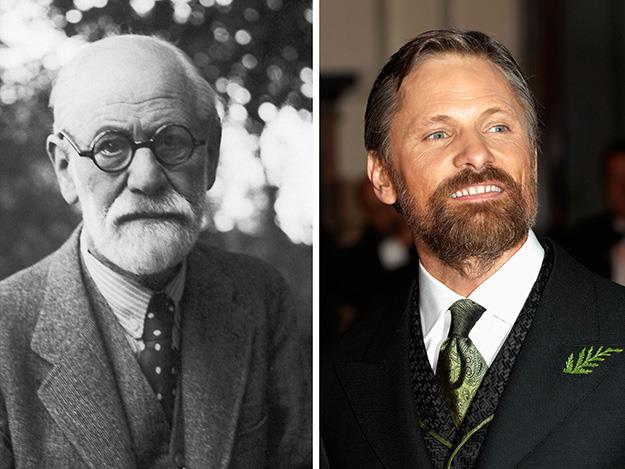 Viggo Mortensen tackled the intense role of Sigmund Freud in the 2011 film, A Dangerous Method.