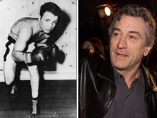 Robert De Niro cracked the big time playing self-destructive boxer Jake LaMotta in the 1980 classic, Raging Bull.