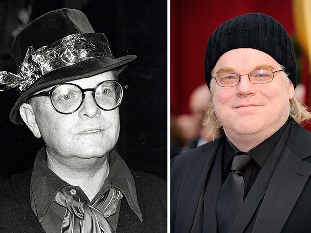 The late Philip Seymour Hoffman was captivating in his depiction of In Cold Blood novelist, Truman Capote in 2005's Capote.